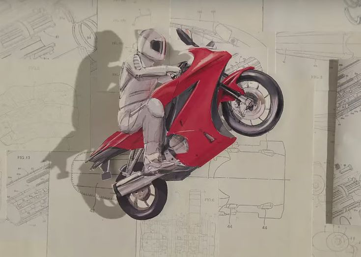 """Stop-motion expert PES created this sensational short film for Honda.  """"Shot entirely in-camera, all the elements in"""