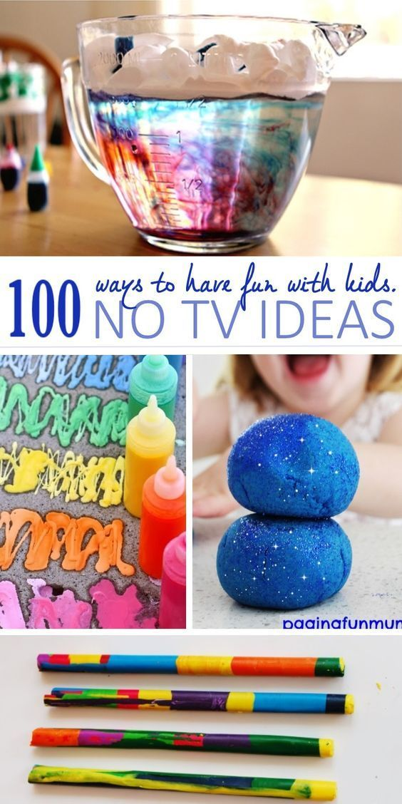 Keep the kids away from the TV this summer with these 100 TV-Free Activities for Kids.