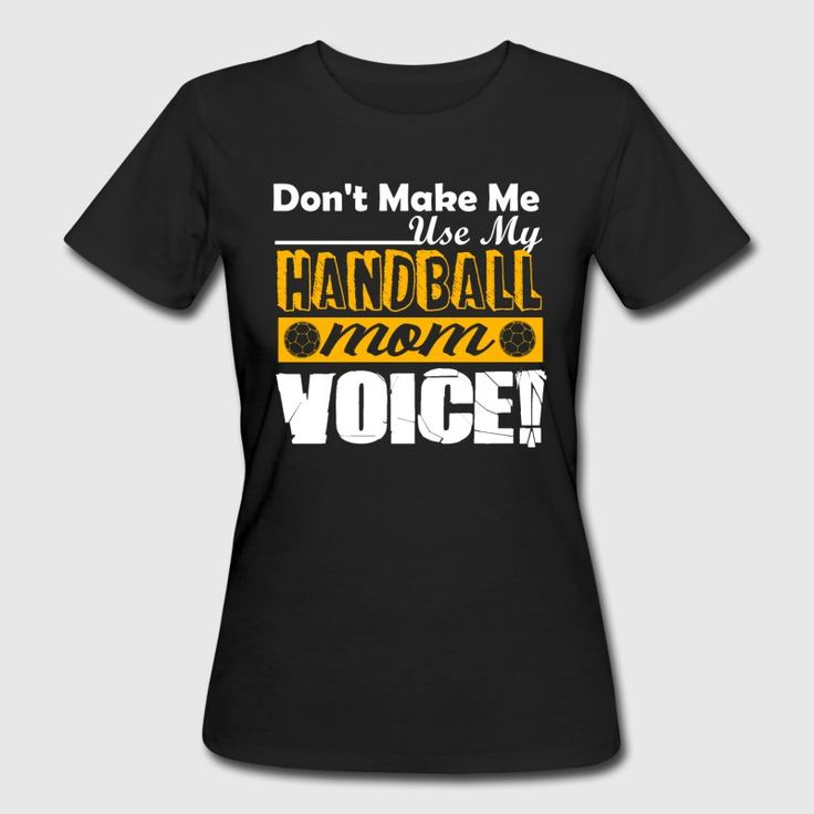 Handball Mom Voice Shirt