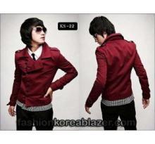 Red Korean Jacket IDR : Rp 275.000 Kode Produk : KS-22