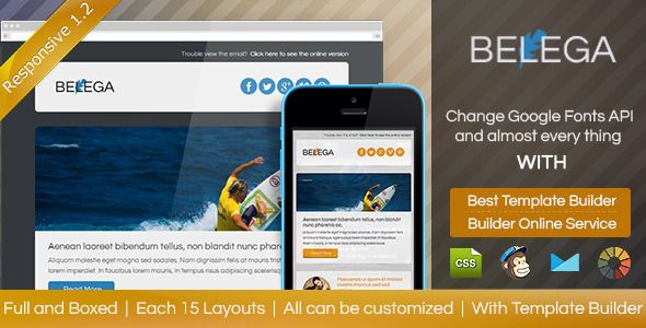 Digit Theme - Responsive Email Template + Builder Credit note - credit note template
