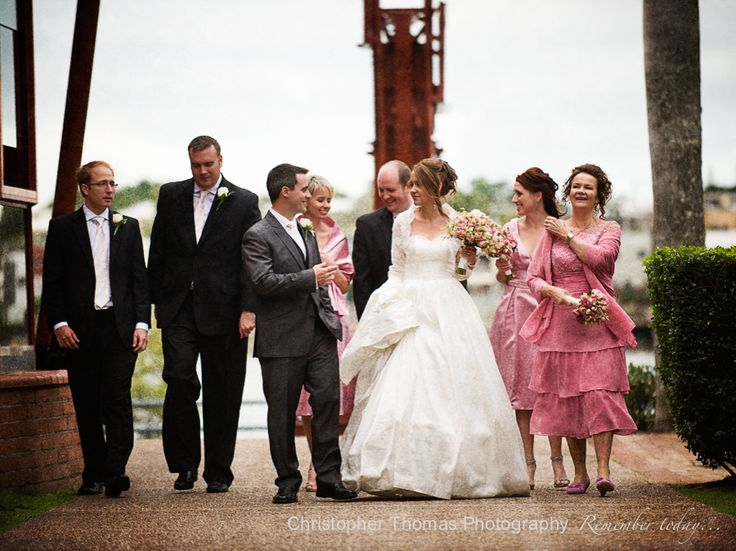 Brisbane Wedding Photographer Eves On The River Pink Theme Christopher Thomas Photography