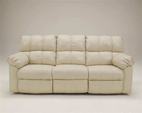 Sleeper Sofas Kennard Contemporary Cream Leather Reclining Sofa Contemporary Style Collections Pinterest Leather reclining sofa Reclining sofa and Contemporary