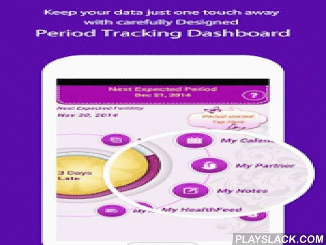 My Period Tracker / Calendar  Android App - playslack.com , MyPeriodTracker is a very accurate ovulation Predictor / Calculator. With high level of Privacy Protection, you can now share your emotional and physical health state with your Partner (**CROSS PLATFORM ENABLED**). It comes with feature like shared Healthline, Period Events calendar, Lifestyle Calendar, help to find possible prospective days for conceiving a baby or even AVOID unwanted pregnancy etc. The app can be highly…