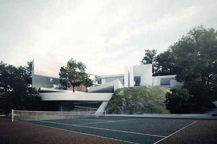 #creato  #villa  #luxe  #Ecuador  #facades #architecture #project # design  #contemporary  #mansion  #interior  #luxury  #UAE contacto@creatoarquitectos.com