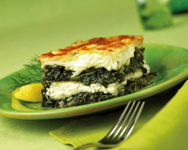 Spinach Lasagna Recipe (Photo courtesy of Westside Market NYC)