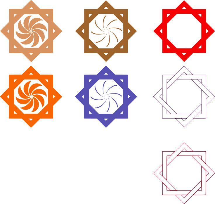 Octagram Star Lakshmi Symbol transparent image