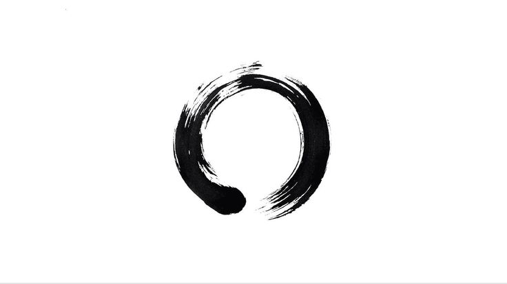 This will be my next tattoo. The enso. It's Japanese for circle. It symbolizes many things, having to do with zen, but the part that gets me is how it can be interpreted as the never ending journey to be whole. It must be imperfect. The skiddish parts symbolize our struggles, while the thick parts, our strength in our lives. Me likely.(: