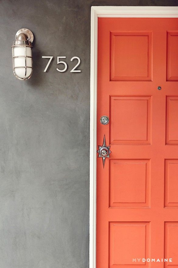 Best 25 Coral Door Ideas On Pinterest Navy Front Doors
