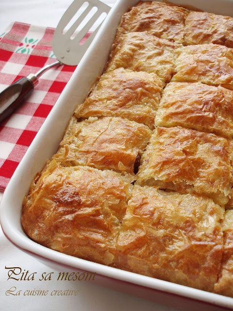 La cuisine creative: Pita sa mesom