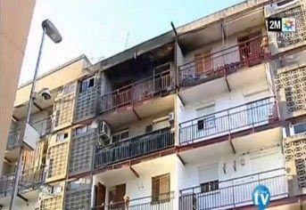 Mort de 4 enfants Marocains dans un incendie en Espagne    مصرع 4 أطفال مغاربة في حريق بإسبانيا