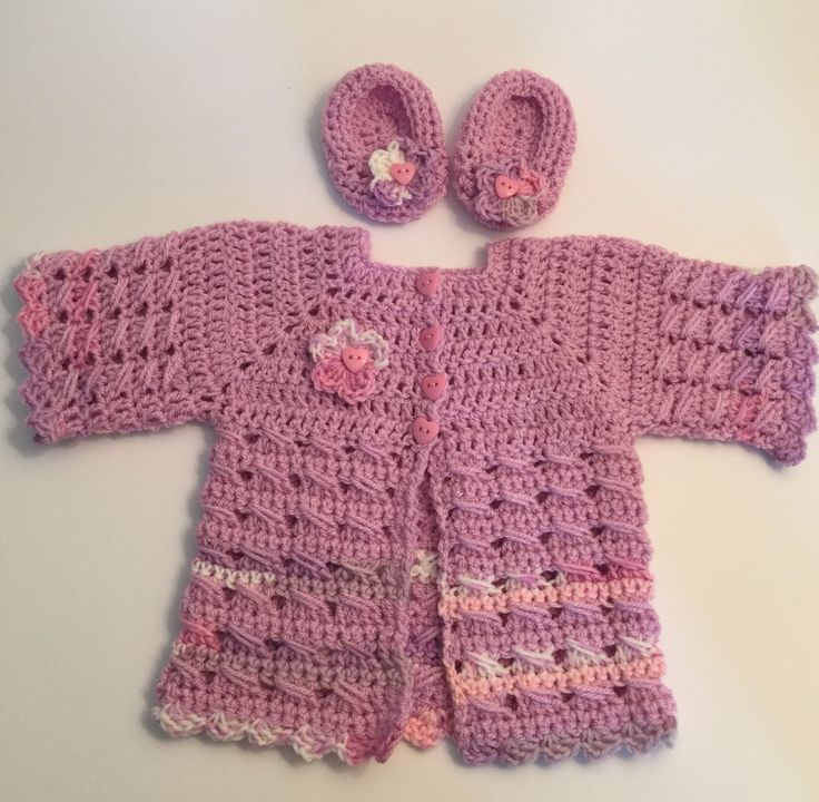 A personal favourite from my Etsy shop https://www.etsy.com/uk/listing/400180705/crochet-handmade-primrose-baby-cardigan