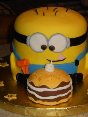 minion birthday cakes for sale