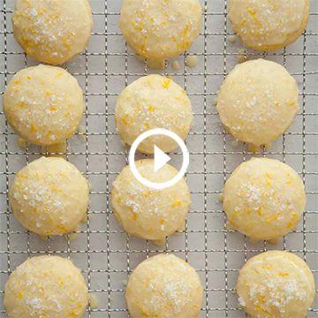Glazed Citrus Cookies