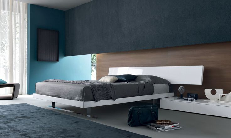 european furniture - Modern bed by Misura Emme