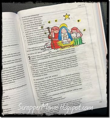 Bible Art Luke 2
