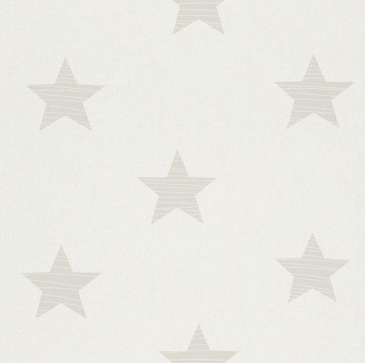 Tapet copii stele crem 245608 Rasch