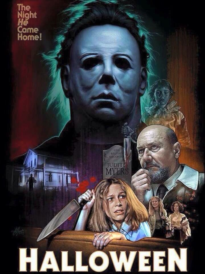 Halloween # John Carpenter # Michael Myers                                                                                                                                                     More