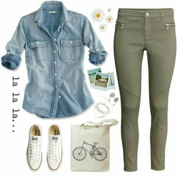 Don't like the zippers on the pants, but besides that -- cute outfit!