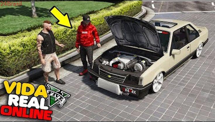 GTA V : VIDA REAL - COLOQUEI TURBO NO MOTOR DE OPALA  !!  #301