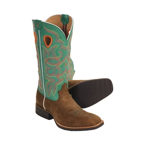 twisted x boots ruff stock 13 quot cowboy boots wide square