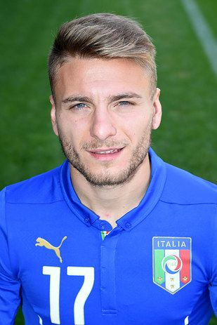 Ciro Immobile, Italy. beautiful. look at those eyes! The 30 Hottest Bearded Men Of The World Cup.