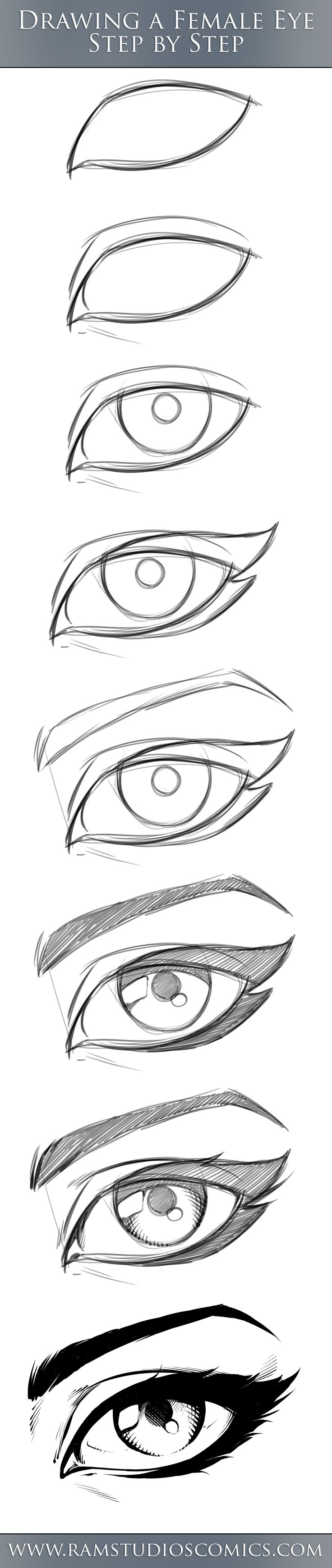 female_comic_eye_tutorial___step_by_step_by_robertmarzullo-dbmp3v2.jpg (1722×8143)
