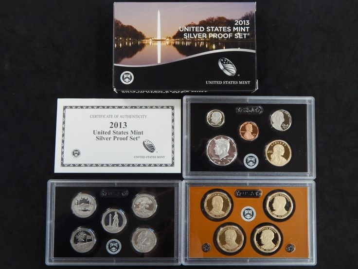 #New post #2013 Silver Proof Set United States Mint 90% Silver 14 Coins Black Box  http://i.ebayimg.com/images/g/lFcAAOSw2xRYi9Lm/s-l1600.jpg      Item specifics     Year:   2013   Composition:   Silver     Strike Type:   Proof      2013 Silver Proof Set United States Mint 90% Silver 14 Coins Black Box  Price : 64.99  Ends on : Ended  View on eBay... https://www.shopnet.one/2013-silver-proof