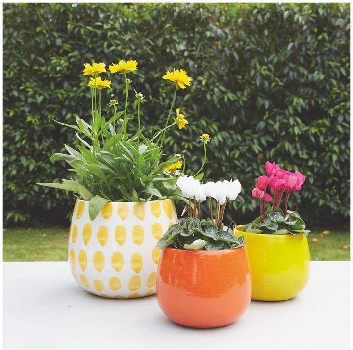 Peat Ceramic Plant Pot 12x11 5cm Garden Planters Pots Plants Ceramic Plant Pots