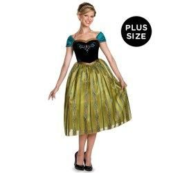 Frozen Anna Coronation Dress - plus size adult Plus Size Disney Costumes 2015 - Women's Costume Characters