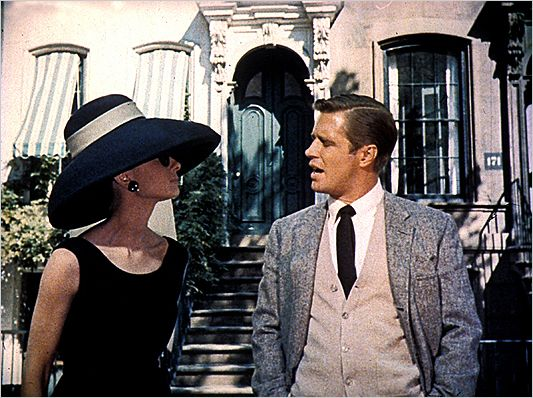 Breakfast at Tiffany's (USA, 1961) - Directed by Blake Edwards - Starring Audrey Hepburn, George Peppard.