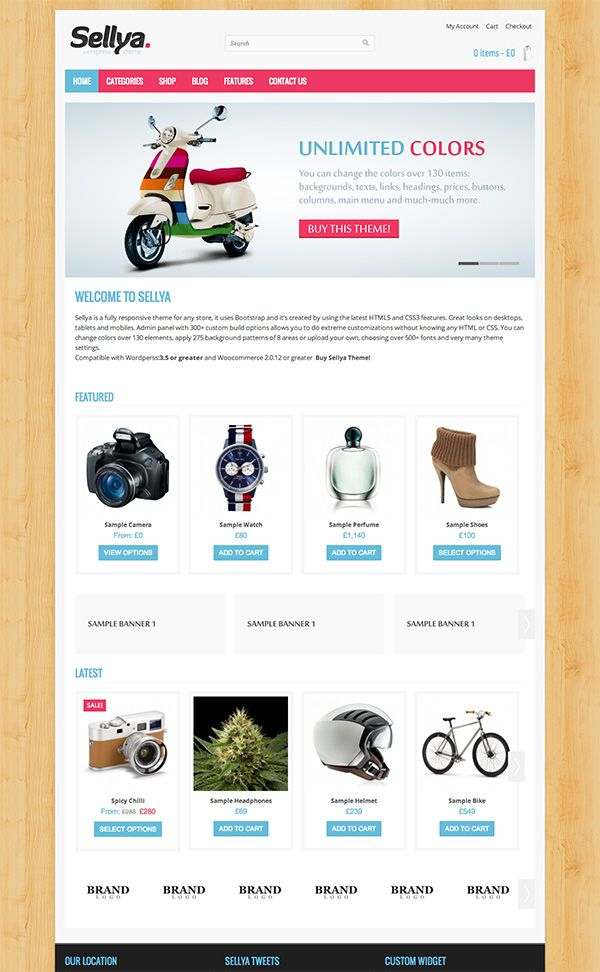 64 best eCommerce Wordpress Themes images on Pinterest | Design web ...