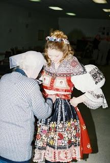 Czech Costumes: How to Wear a Kyjov Kroj Properly
