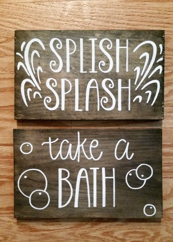 Best 25 bath sign ideas on pinterest bedroom signs for Bathroom 7x12
