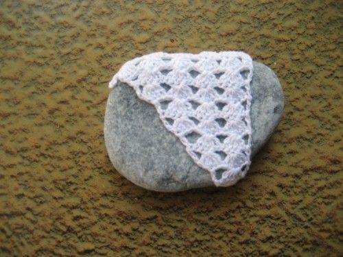 sasso, crohet, cotone