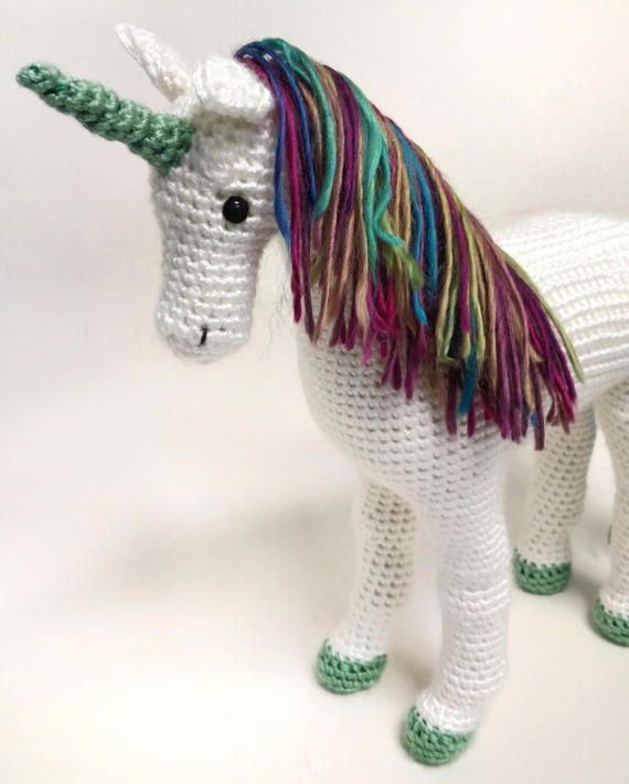 Hey, I found this really awesome Etsy listing at https://www.etsy.com/listing/510918821/crochet-unicorn-toy-plush-horse-stuffed