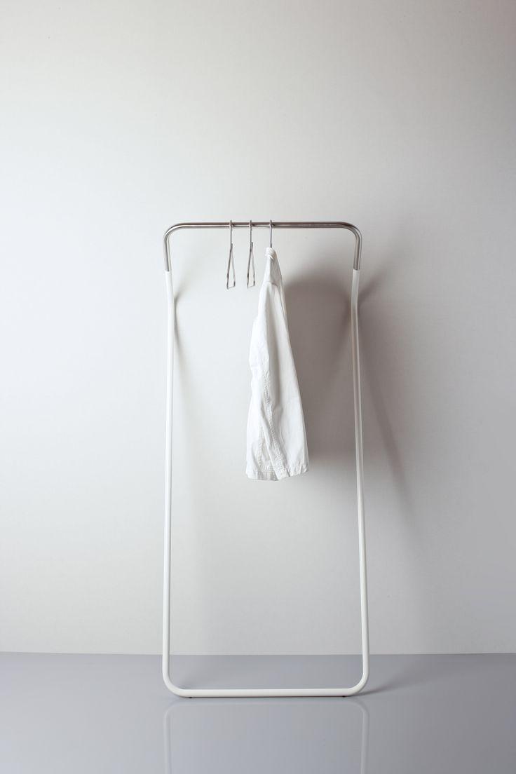 Cascando Lean-on Coat Stand kopen? Garderobestandaard van RVS
