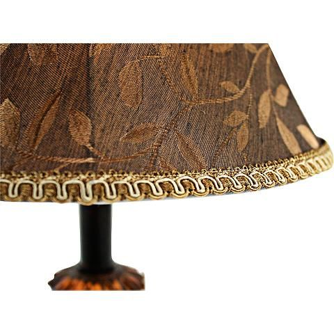 Eleanor Black and Cooper Brown Buffet Table Lamp Set of 2 - #8Y671 | Lamps Plus