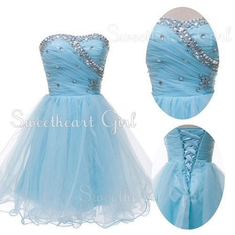 Sweetheart Short hand beads Evening Prom Gowns party/cocktail/homecoming dress