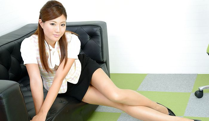 Pantyhose smoking korean