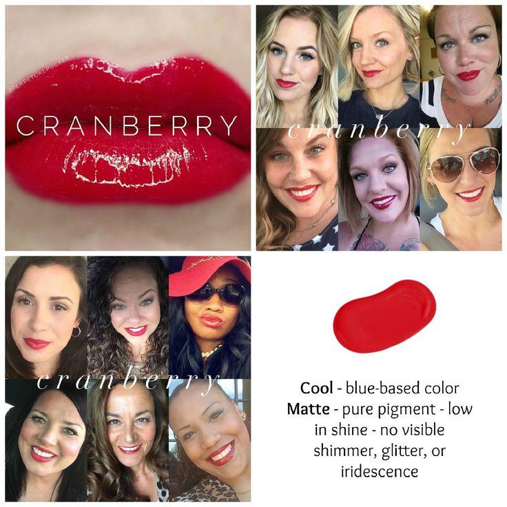 Cranberry Lipsense  *Retired Color