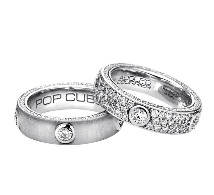 Модный аксессуар, который создан специально для вас. Золотые кольца с бриллиантами станут неотъемлемой деталью вашего образа. Это украшение, которое вызывает эстетическое наслаждение. Любоваться кольцом ADOLFO COURRIER на своей руке – удовольствие, которое вы должны испытать.