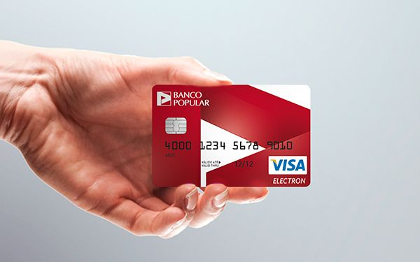 Banco Popular Cards on Behance