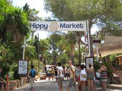 Hippy Market Punta Arabí at Es Cana. Wednesday from 10:30am to 6:30pm