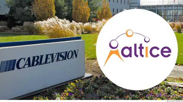 Big cable deal: Altice buys Cablevision