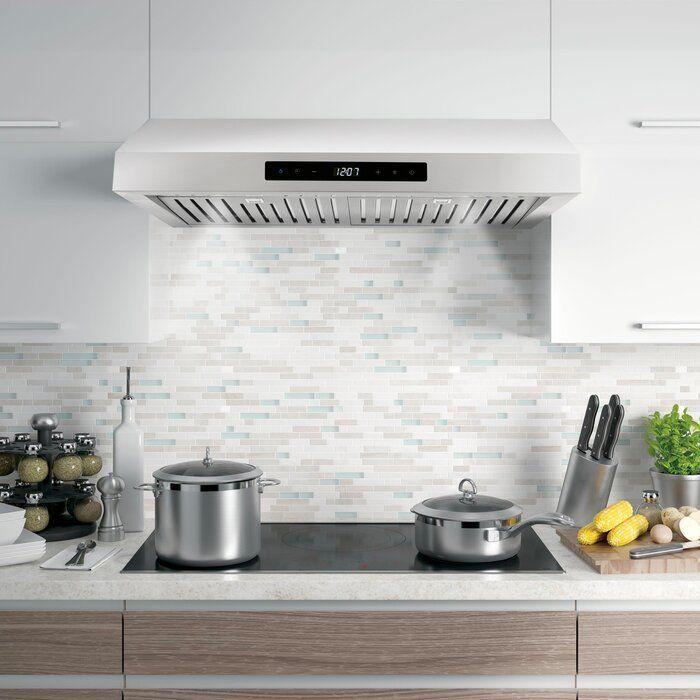 30 380 Cfm Ducted Under Cabinet Range Hood In Stainless Steel Kitchen Ventilation Range Hood Under Cabinet Range Hoods