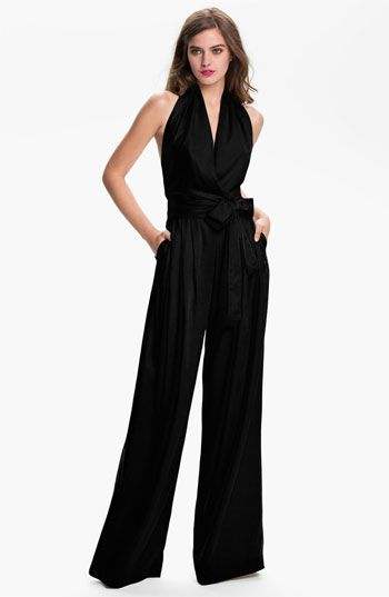 This might be the one Brandi wore on RHOBH.  Robert Rodriguez wide leg jumpsuit!