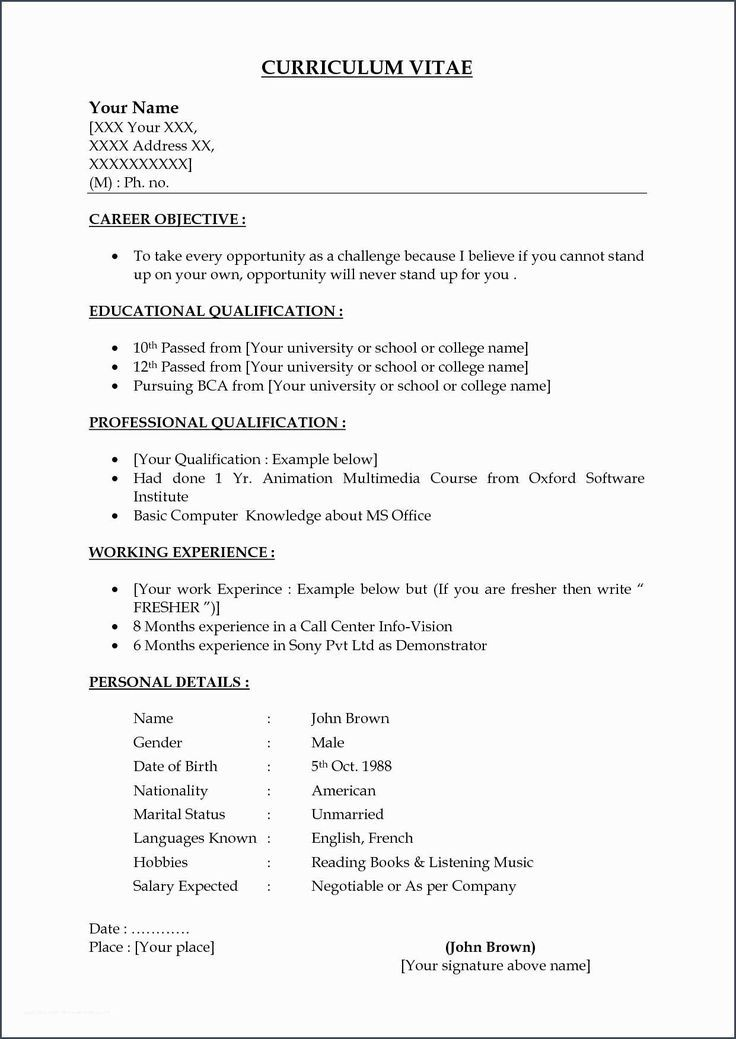 types of resume formats formats Resume Types Job