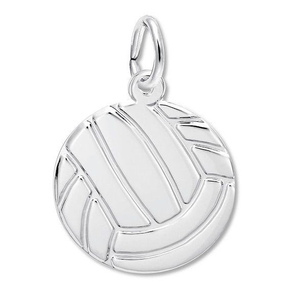 Volleyball Charm Sterling Silver Bracelet Designs Sterling Silver