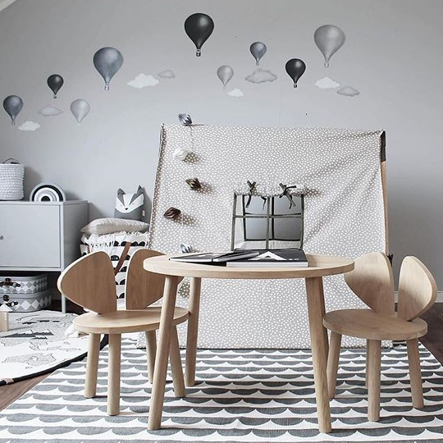 Kid's room inspiration | Ferm Living play tent available at www.istome.co.uk